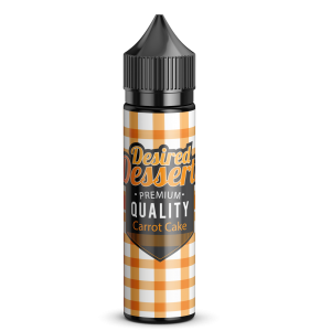 Desired Desserts – Carrot cake 50ml