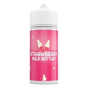 Strawberry Milk Bottles – 100ml