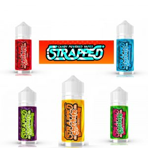 Strapped Sherbets – 100ml NEW RELEASE