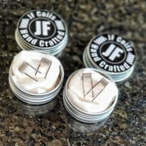 JF Coils – Handcrafted Pre built coils 2 pack
